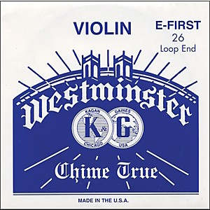 Westminster-Violin-E--String-E--26-Ga--Loop-End