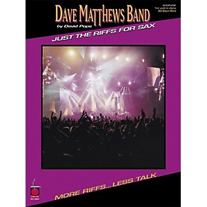 Cherry-Lane-Dave-Matthews-Band---Just-the-Riffs-for-Saxophone-Standard