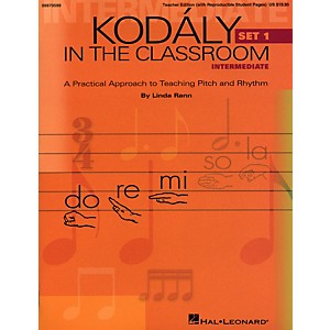 Hal-Leonard-Kodaly-in-the-Classroom--A-Practical-Approach-to-Pitch-and-Rhythm-Intermediate-Set-1-Classroom-Kit---Teacher-And-P