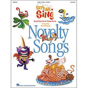 Hal-Leonard-Let-s-All-Sing---Novelty-Songs-Performance-Accompaniment-Cd