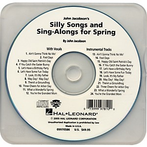 Hal-Leonard-Silly-Songs---Sing-Alongs-for-Spring-Performance-Accompaniment-Cd