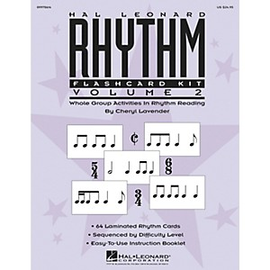 Hal-Leonard-Rhythm-Flashcard-Kit-Vol--2-Standard