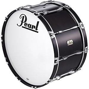 Pearl-30x16-Championship-Series-Marching-Bass-Drum-Midnight-Black