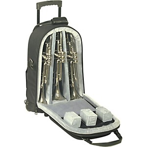 Allora-Triple-Trumpet-Wheelie-Bag-11-WBFSK-Black-Gard-Synthetic-w--Leather-Trim