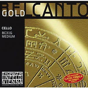 Thomastik-Belcanto-Cello-Strings-4-4-Size-A-String-Gold