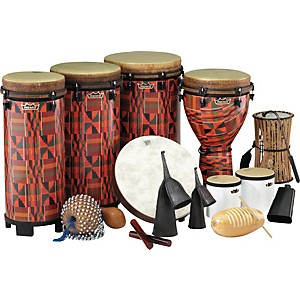 Remo-World-Music-Drumming-Packages-Package-A---51-Instruments
