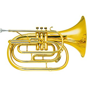King-1122-Ultimate-Series-Marching-Bb-French-Horn-1122-Lacquer