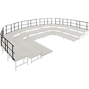Midwest-Folding-Products-Stages---Seated-Risers-Guard-Rails-36--Long-30--Long