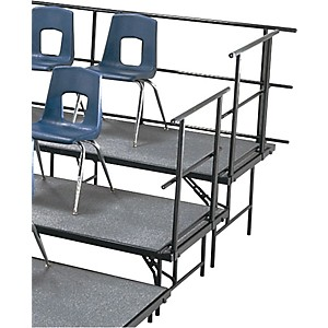 Midwest-Folding-Products-Sloping-Guard-Rails-for-Standing-Choral-Risers-For-2-Level--36--High-For-2-Level--36--High