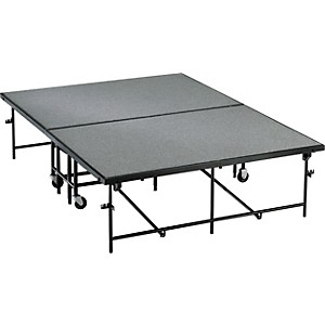 Midwest-Folding-Products-6x8-Mobile-Stage-16--High--Gray-Polypropylene