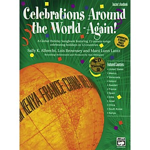 Alfred-Celebration-Around-The-World-Again-Book-And-Cd