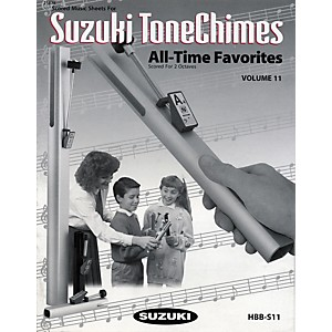 Suzuki-ToneChimes-Music-Books-Volume-6-to-13-Volume-11-Favorites