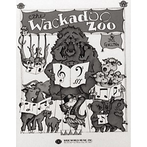 Shawnee-Press-Wackadoo-Zoo--Book--Accomp-Perfomance