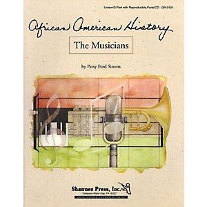 Shawnee-Press-African-American-History-Series-The-Musicians-Reproducible-Parts-And-Cd