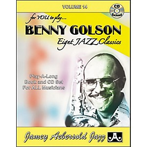 Jamey-Aebersold-Benny-Golson-Eight-Jazz-Classics-for-You-to-Play-Book-CD-Standard