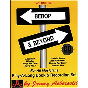 Jamey-Aebersold--Vol--36--Bebop-and-Beyond-Standard