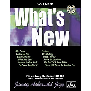 Jamey-Aebersold--Vol--93--What-s-New-Standard