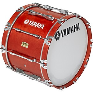 Yamaha-20x14-8200-Field-Corp-Series-Bass-Drums-Red-Forest-Stain-20x14