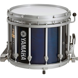 Yamaha-13x11-SFZ-Marching-Snare-Drum-Blue-Forest-Stain-13X11