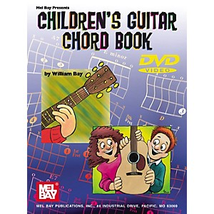 Mel-Bay-Childrens-Guitar-Chord-Book---DVD-Standard