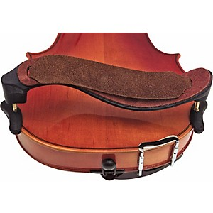 Mach-One-Plastic-Violin-Shoulder-Rest-Plastic-With-Leather-Strap
