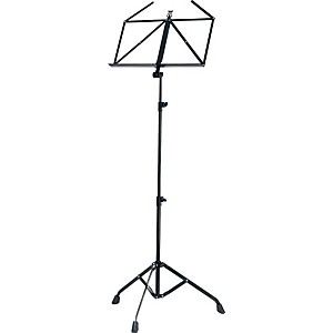 K-M-Extra-Heavy-Duty-Music-Stand-Black
