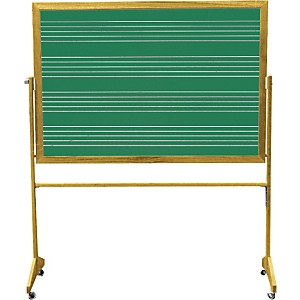Vecchio-Wall-Mounted-Music-Staff-Board-3-FT-X-4-FT-Chalkboard--4-Staves-