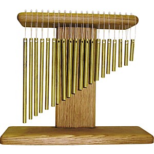 A-Days-Work-20-Brass-Bar-Chime-Tree-Standard