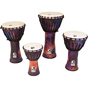 Toca-Synergy-Freestyle-Rope-Tuned-Djembe-10-In-Purple