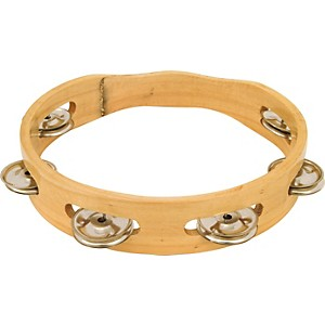 CP-8--Headless-Single-Row-Wood-Tambourine-8-In
