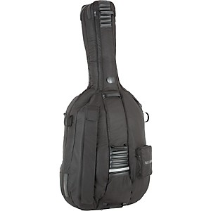 Bellafina-Pro-3-4-Size-Double-Bass-Bag-Black-3-4-Size
