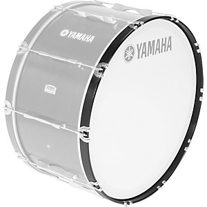 YAMAHA-Field-Corps-Marching-Bass-Drum-Hoops-U0072123--20-Black-Forest-For-Field-Corps