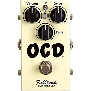 Fulltone-OCD-Obsessive-Compulsive-Drive-Overdrive-Guitar-Effects-Pedal-Standard