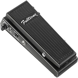 Fulltone-Clyde-Deluxe-Wah-Guitar-Effects-Pedal-Black