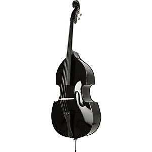 Florea-Midnight-Double-Bass-Outfit-3-4-size-black