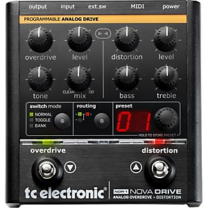 TC-Electronic-NDR-1-Nova-Drive-Overdrive-and-Distortion-Guitar-Effects-Pedal-Standard