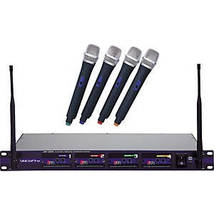 VocoPro-UHF-5800-4-Microphone-Wireless-System-CH-3