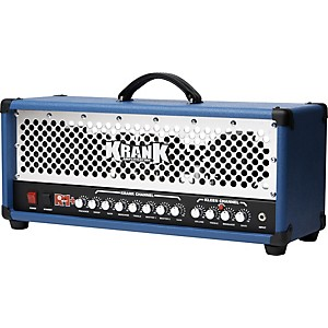 Krank-Revolution-REP-120W-Tube-Guitar-Amp-Head-Blue-Chrome-Grill
