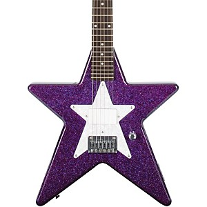 Daisy-Rock-Debutante-Star-Short-Scale-Electric-Guitar-Cosmic-Purple