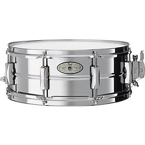Pearl-Vision-SensiTone-Steel-Snare-Drum-14X5-5