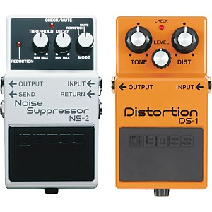 Boss-DS-1-and-NS-2-Guitar-Effects-Pedals-Standard