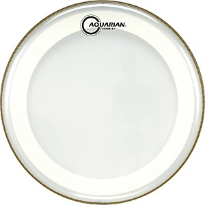 Aquarian-Super-2-Clear-Drumhead-with-SX-Ring-10-In