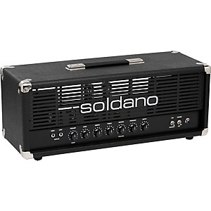 Soldano-Avenger-50W-Tube-Guitar-Amp-Head-Black