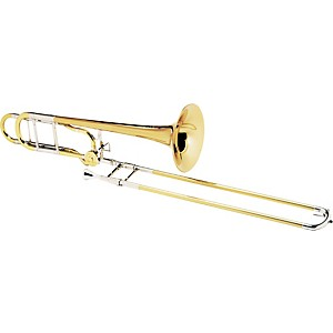 Conn-88HCL-Symphony-Series-F-Attachment-Trombone-Lacquer-9-inch-Rose-Brass-Bell