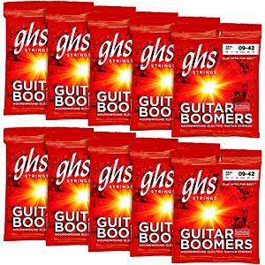 GHS-Boomers-Extra-Light-Electric-Guitar-Strings--10-Pack--Standard