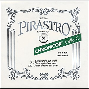 Pirastro-Chromcor-1-8-1-4-Size-Cello-Strings-1-8-1-4-Size-C-String