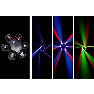 American-DJ-Nucleus-LED---6-Head-Scanning-Centerpiece-Effect-Standard