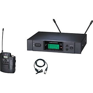Audio-Technica-ATW-3131b-3000-Series-Lavalier-Wireless-System-Channel-C