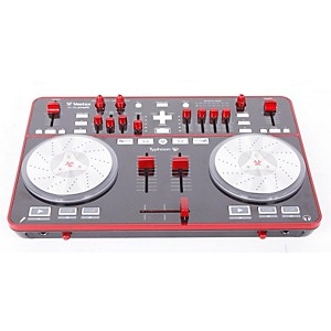 Vestax-Typhoon-DJ-MIDI-controller-with-sound-card-888365011387