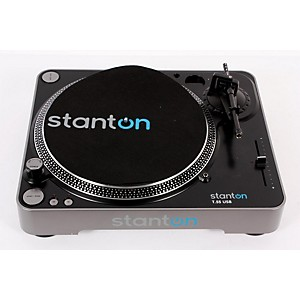 Stanton-T-55-USB-Turntable-Black-888365206806
